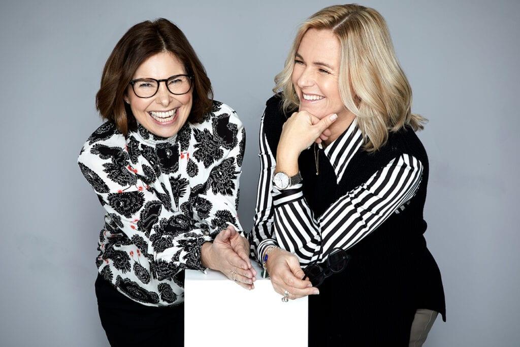 Maria Mattson och Therese Malk på Proper People